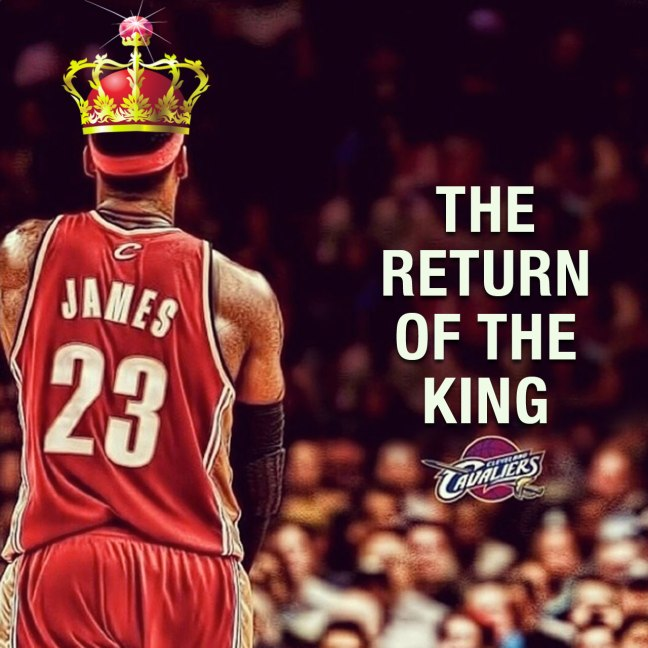 lebron king